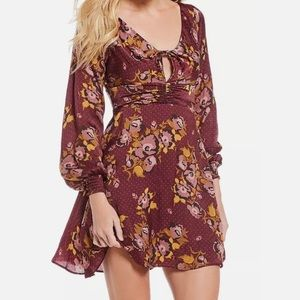 NWT free people smocked dress size 12